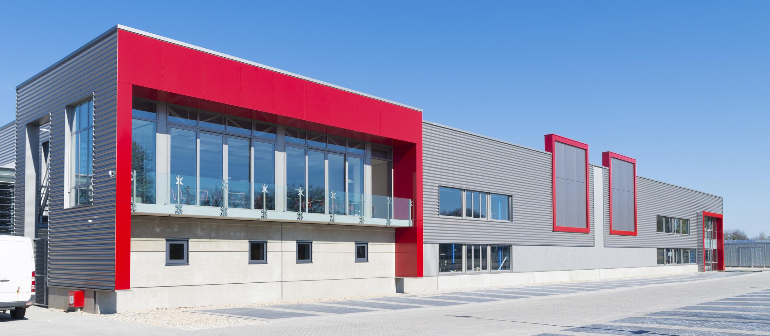 Commercial Building Slider Image