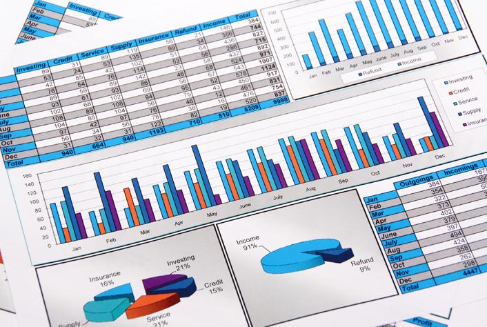 Financial Chart Image